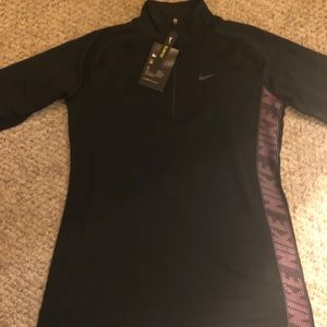 New Woman's Nike Dri Fit Pull Over Top/Shirt